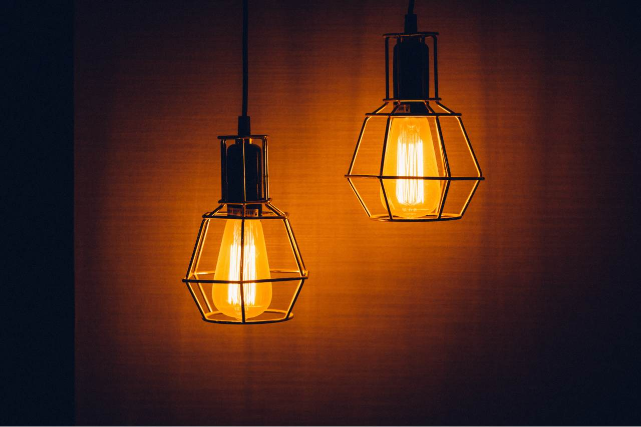 decorative hanging lights for living room
